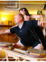 Laura and Steve  Kona Pilates